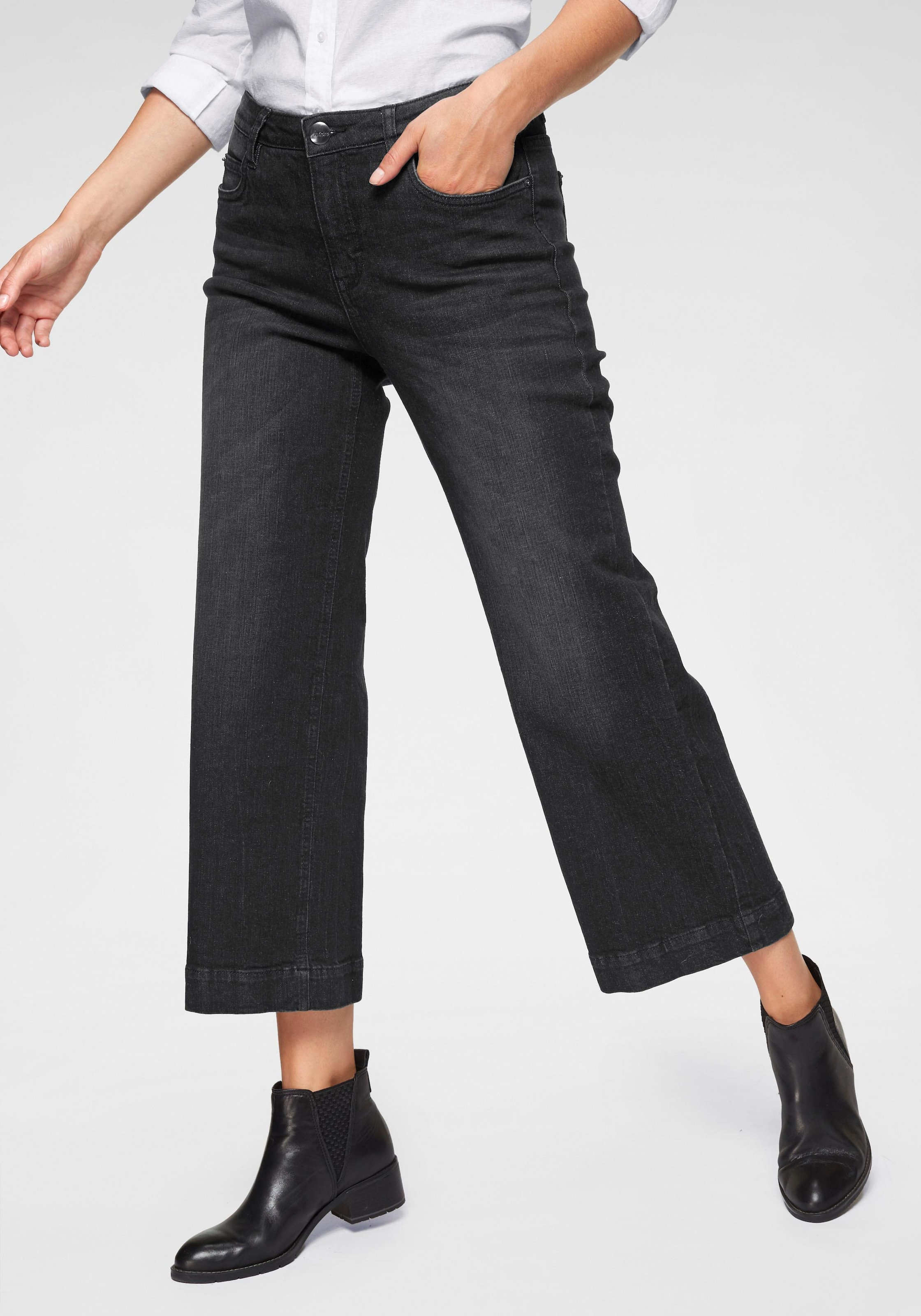 Image of Aniston CASUAL 7/8-Jeans, in Used-Waschung
