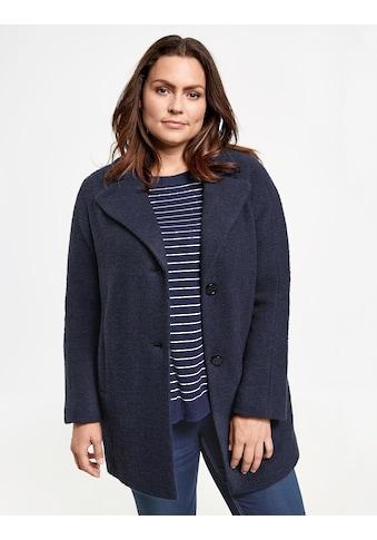SAMOON Outdoorjacke Wolle »Jacke aus Woll - Mix« kaufen
