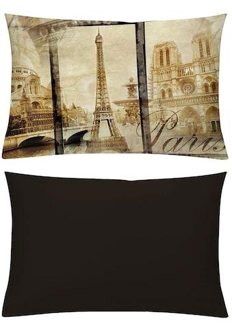 emotion textiles Kissenhüllen »Alt Paris Sepia« kaufen