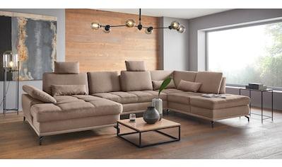 Places of Style Wohnlandschaft »Costello«, incl. Sitztiefenverstellung und... kaufen