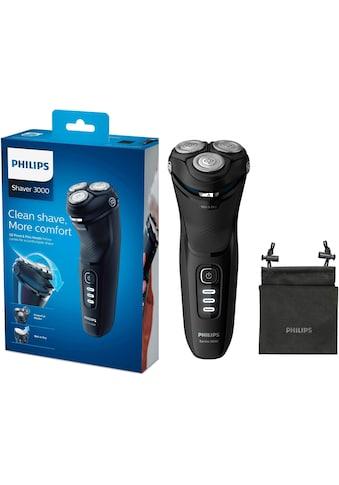 Philips, Elektrorasierer S3233/52 Series 3200, ausklappbarer Langhaarschneider kaufen