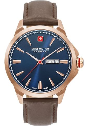 Swiss Military Hanowa Schweizer Uhr »DAY DATE CLASSIC, 06-4346.02.003« kaufen