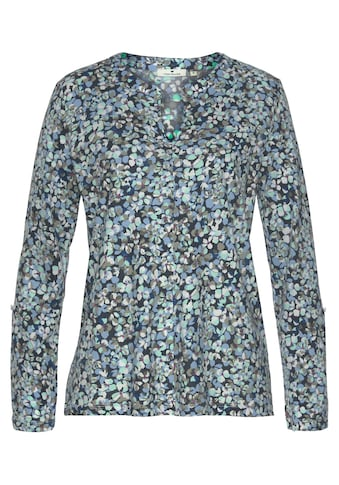 TOM TAILOR Langarmshirt, mit wunderschönem floralen Alloverprint kaufen