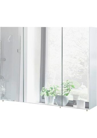 Schildmeyer Spiegelschrank »Basic«, Breite 100 cm, 3-türig, Glaseinlegeböden, Made in... kaufen
