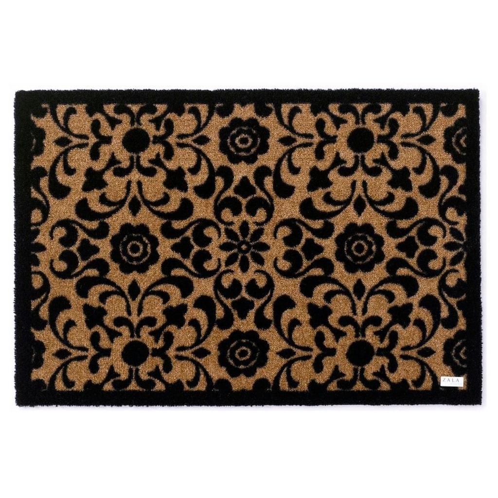 Zala Living Fussmatte »Ornament«, rechteckig, 7 mm Höhe, Schmutzfangmatte