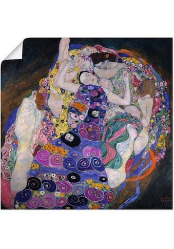 Artland Wandbild »Die Jungfrau. 1913«, Gruppen & Familien, (1 St.), in vielen Grössen... kaufen