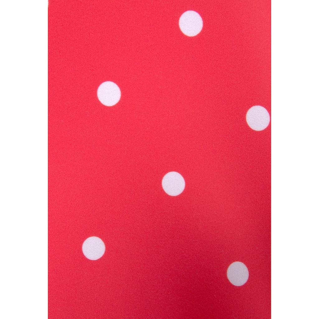 s.Oliver Beachwear Bügel-Tankini-Top »Audrey«, im Punkte und Streifen Mix
