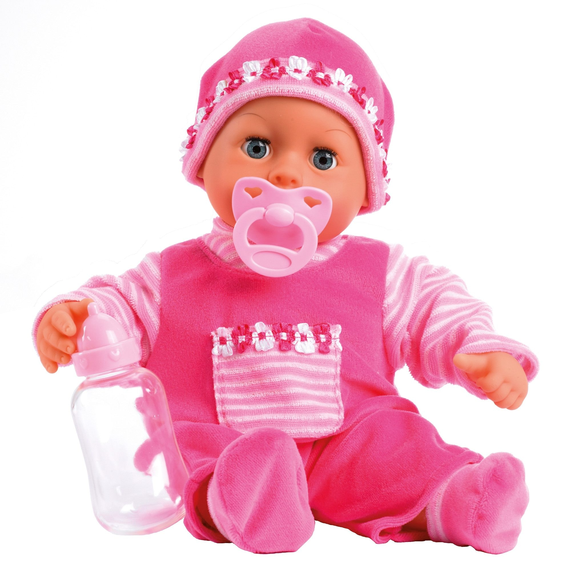 "Image of Bayer Babypuppe ""First Words, pink"""