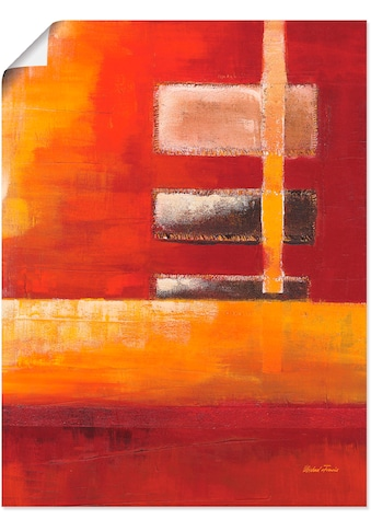 Artland Wandbild »Felder II - Abstrakt«, Muster, (1 St.), in vielen Grössen &... kaufen
