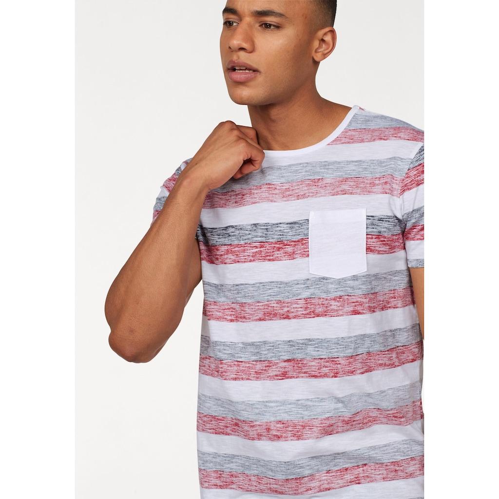 John Devin T-Shirt, mit Inside out Print