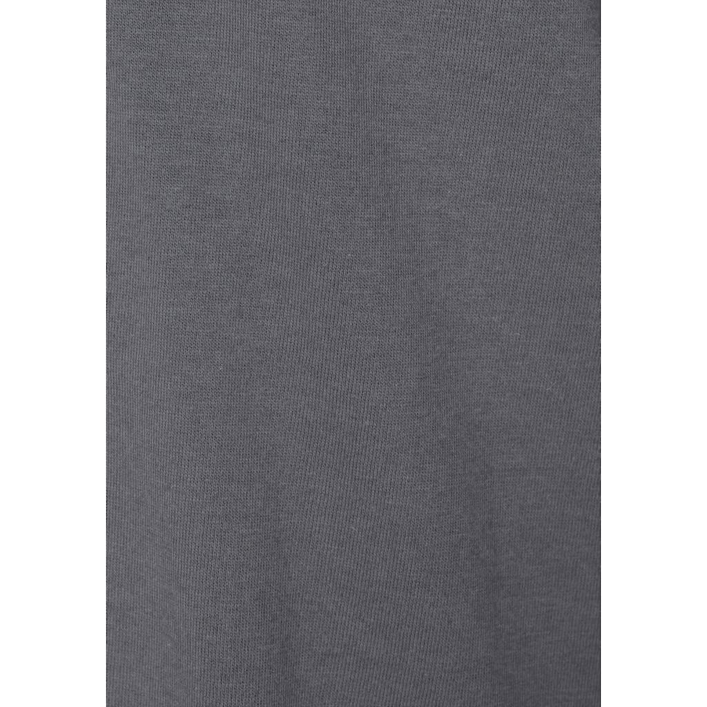 LASCANA Nachthemd, in klassischer Form mit Knopfleiste