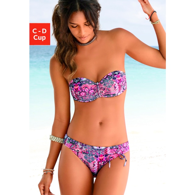 Buffalo Bandeau-Bikini-Top »Shari«, mit Paisleydruck