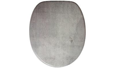 Sanilo WC-Sitz »Beton«, mit Absenkautomatik kaufen
