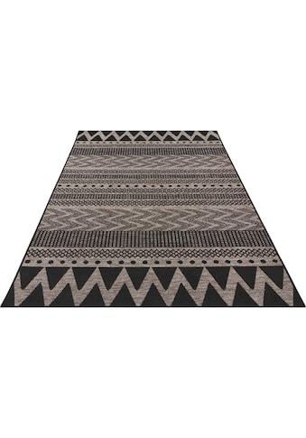 bougari Teppich »Sidon«, rechteckig, 4 mm Höhe, In- und Outdoor geeignet, Flachgewebe, Wohnzimmer kaufen