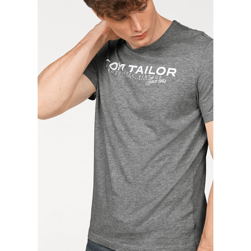 TOM TAILOR T-Shirt, mit Logoprint
