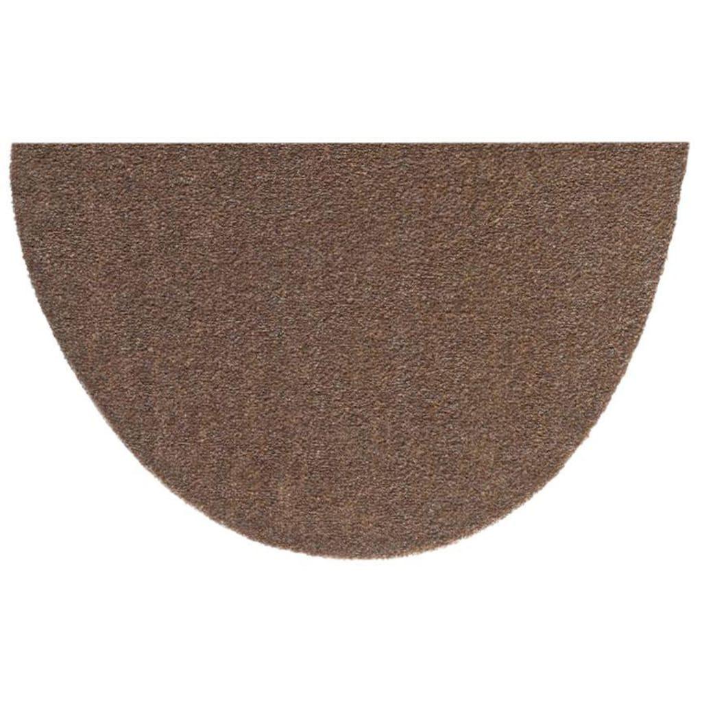 HANSE Home Fussmatte »Deko Soft«, halbrund, 7 mm Höhe, Schmutzfangmatte, saugfähig, waschbar