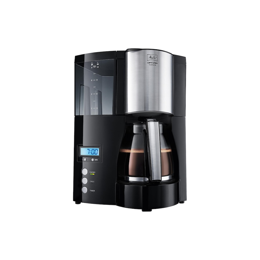 Melitta Filterkaffeemaschine »Optima Timer«