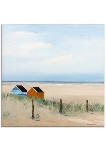 Artland Glasbild »Sonniger Morgen V«, Strand, (1 St.) kaufen