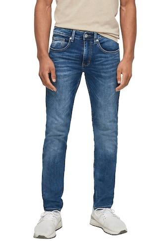Q/S designed by 5-Pocket-Jeans, in authentischer Used-Optik kaufen