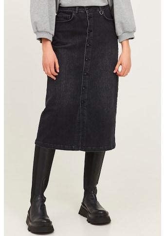 Pulz Jeans Jeansrock »PZMARIE Skirt 50206208«, Midi-Jeansrock mit Knopfleiste kaufen