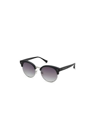 Sonnenbrille, Kapten & Son, »Capri Matt Black Silver Gradient Black« kaufen