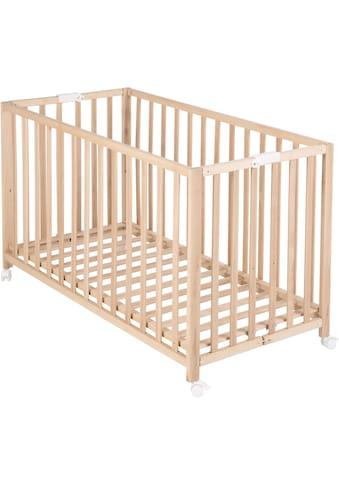 roba® Babybett »Fold Up, buche«, klappbar kaufen