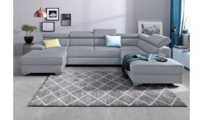 DOMO collection Wohnlandschaft »Niria«, wahlweise mit Bettfunktion und Bettkasten kaufen