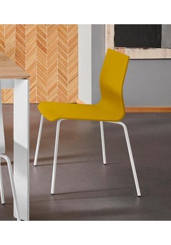Places of Style Esszimmerstuhl »Juma«, aus schönem massivem, lackierten Buchenholz,... kaufen