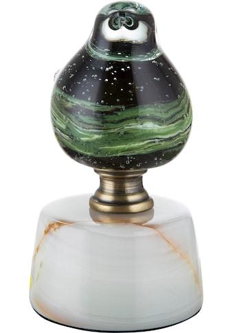 GILDE GLAS art Dekofigur »Vogel auf Base Florenz«, Dekoobjekt, Tierfigur,... kaufen