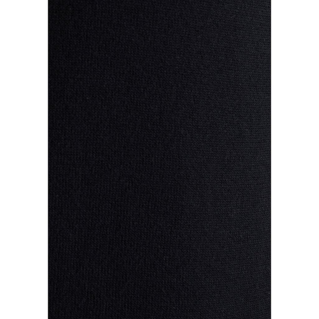Esprit Strickjacke, in Passform gestrickte Schnittteile
