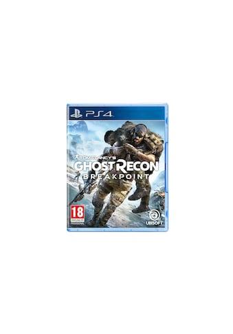 UBISOFT Spiel »Ghost Recon: Breakpoint«, PlayStation 4 kaufen