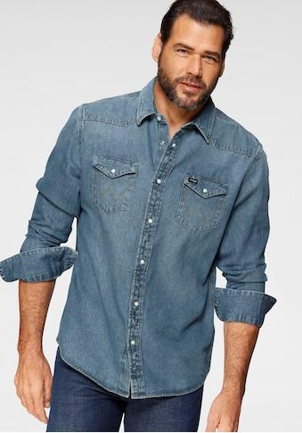 Wrangler Jeanshemd »Western Shirt« kaufen