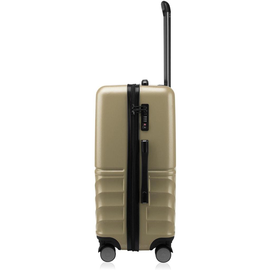 Hauptstadtkoffer Hartschalen-Trolley »Boxi, 65 cm«, 4 Rollen
