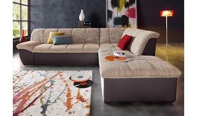 DOMO collection Ecksofa »Splash«, wahlweise mit Bettfunktion kaufen