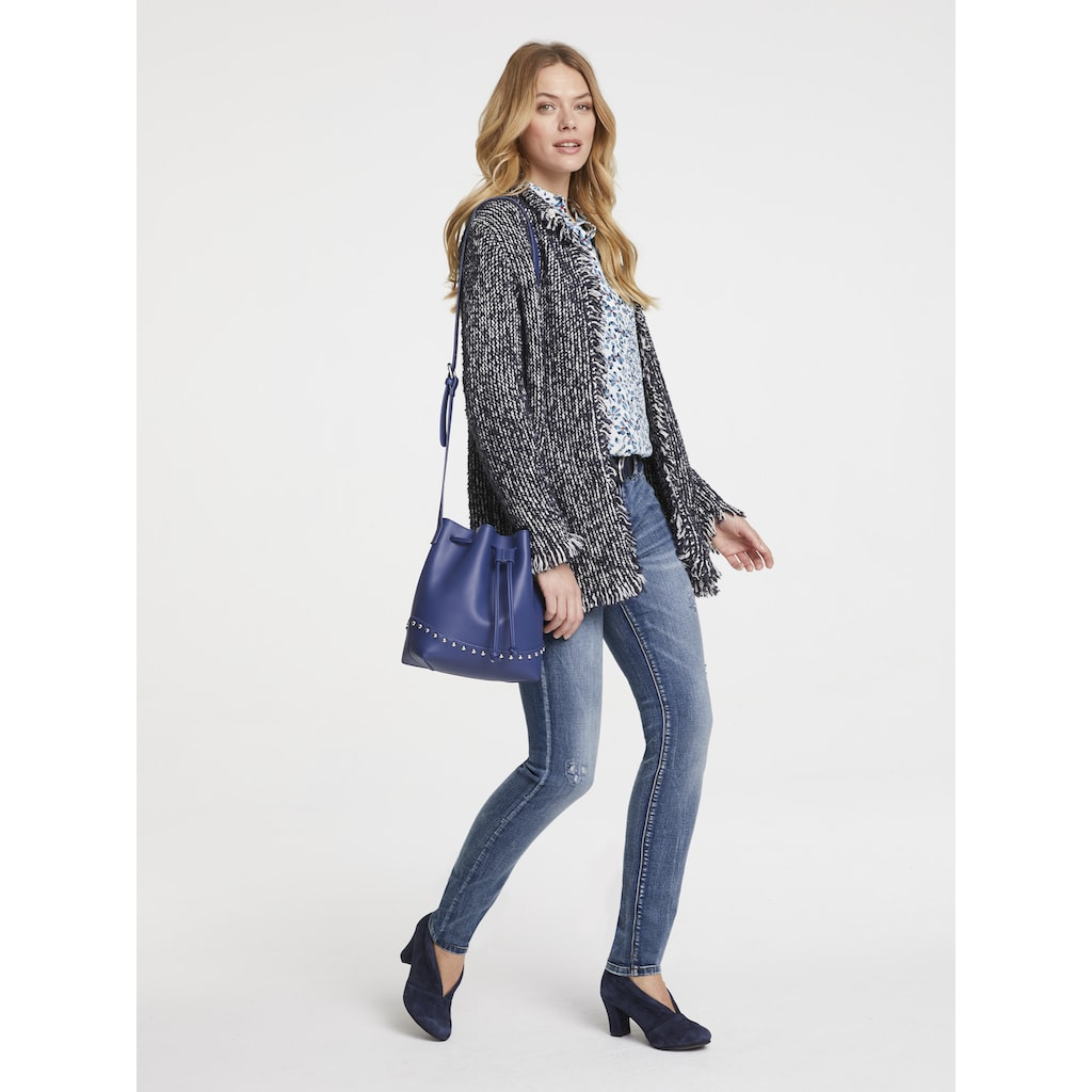 LINEA TESINI by Heine Strickjacke, mit Wolle