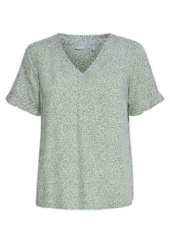 fransa Kurzarmbluse »Fransa Damen Blusenshirt mit V-Ausschnitt«, Blusenshirt mit 3/4 Arm kaufen