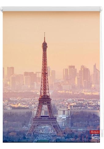 LICHTBLICK Seitenzugrollo »Klemmfix Motiv Eiffelturm«, Lichtschutz, ohne Bohren,... kaufen