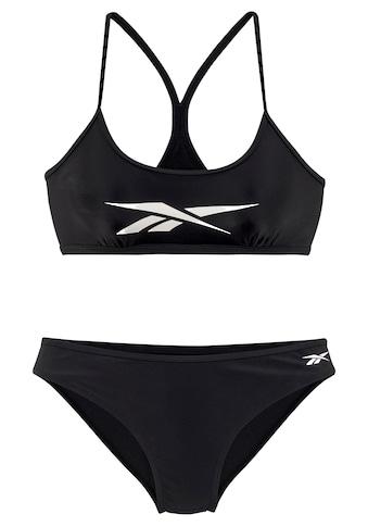 Reebok Bustier-Bikini, mit Markenlogo am Top kaufen