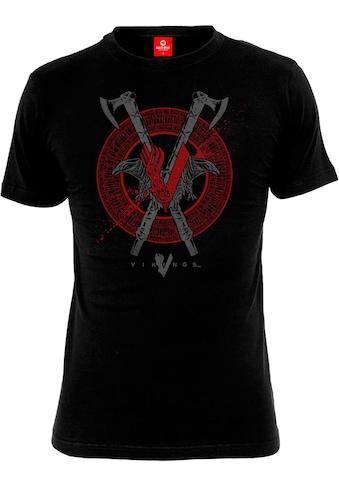 Nastrovje Potsdam T-Shirt »Vikings Axe & Raven« kaufen