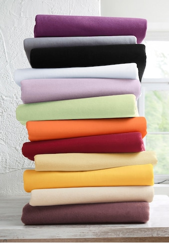 my home Spannbettlaken »Jersey«, aus reiner Baumwolle kaufen