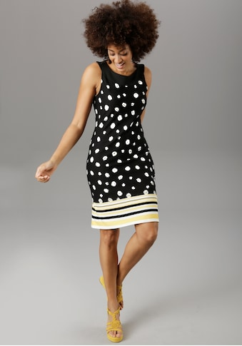 Aniston SELECTED Sommerkleid, mit Gänseblümchen-Druck kaufen