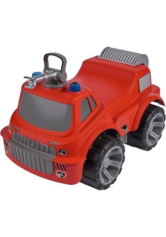 BIG Spielzeug-Feuerwehr »BIG Power Worker Maxi Fire Truck«, Aufsitz-Feuerwehrauto mit... kaufen