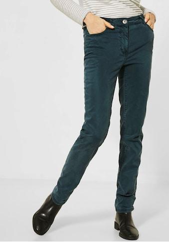 Cecil 5-Pocket-Hose »Vicky«, im unifarbenen Design kaufen