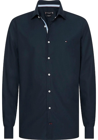 Tommy Hilfiger TAILORED Businesshemd »POPLIN CLASSIC SLIM SHIRT«, mit verdeckten... kaufen