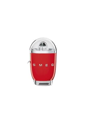 Saftpresse, SMEG, »50´s Retro Style, Rot« kaufen