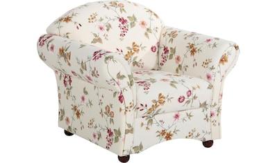 Max Winzer® Sessel »Carolina«, im romantischen Look, Blumen kaufen