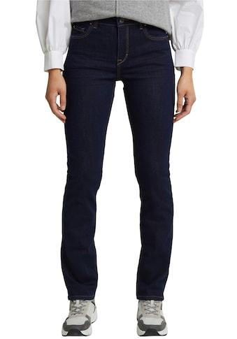 Esprit Stretch-Jeans, im 5-Pocket Stil im geraden Shape kaufen