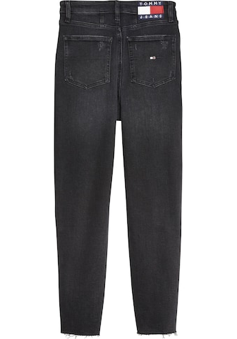 TOMMY JEANS Mom - Jeans »MOM JEAN HIGH RISE TAPERED CKBK« kaufen