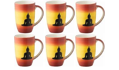 Mila Cappuccinotasse »Buddha 230 ml, 6« kaufen
