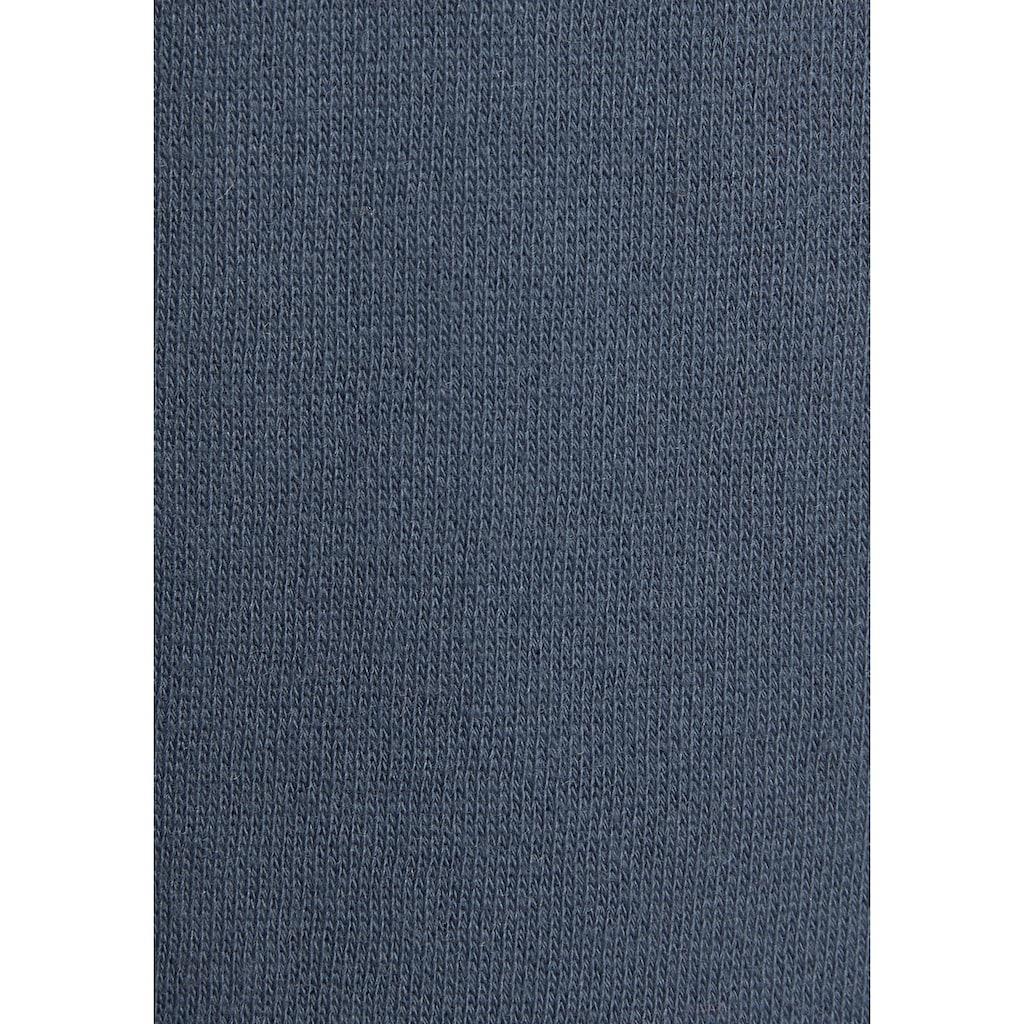 Bench. Sweatshorts, mit Kordelzug und Lederimitat-Details